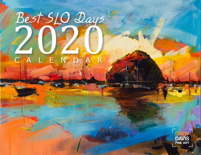 *LIMITED STOCK* Best SLO Days 2020 Calendar