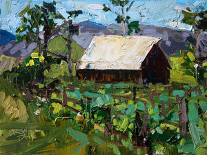 Biddle Ranch - San Luis Obispo | 9x12 | Original Oil on Wood Panel