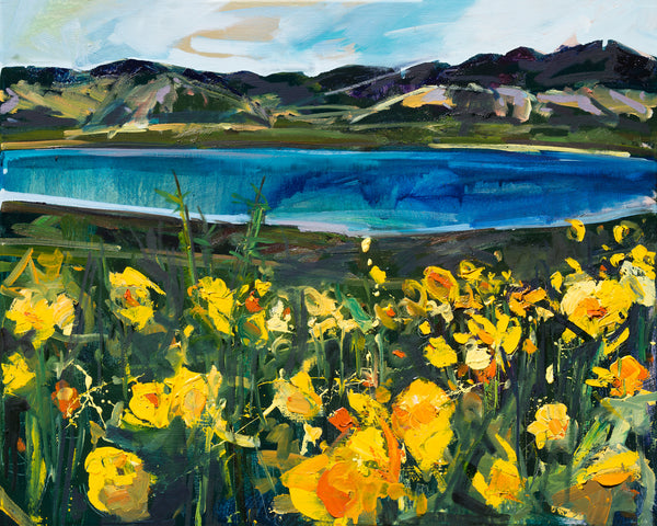 "Carrizo Plains Wildflowers | 24""x30"" 