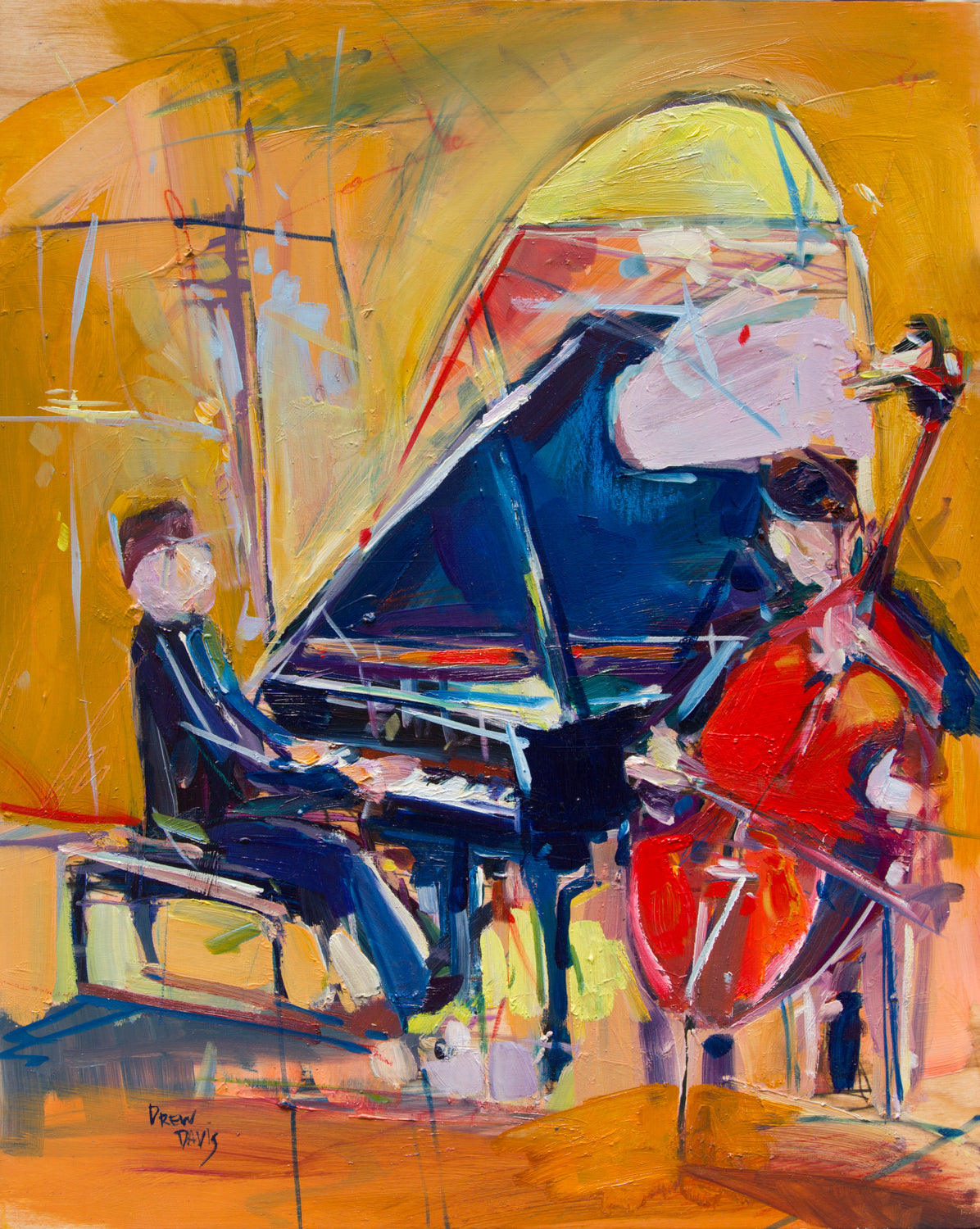 Jazzy Trio 2  | 16x20 | SOLD - PRINTS AVAILABLE