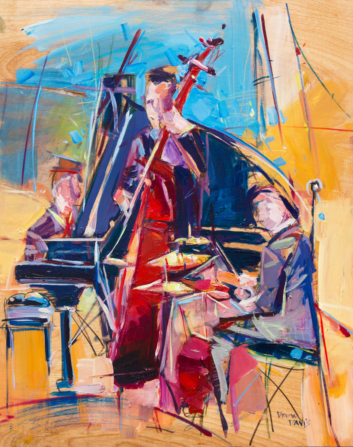 Jazzy Trio  | 16x20 | SOLD - PRINTS AVAILABLE