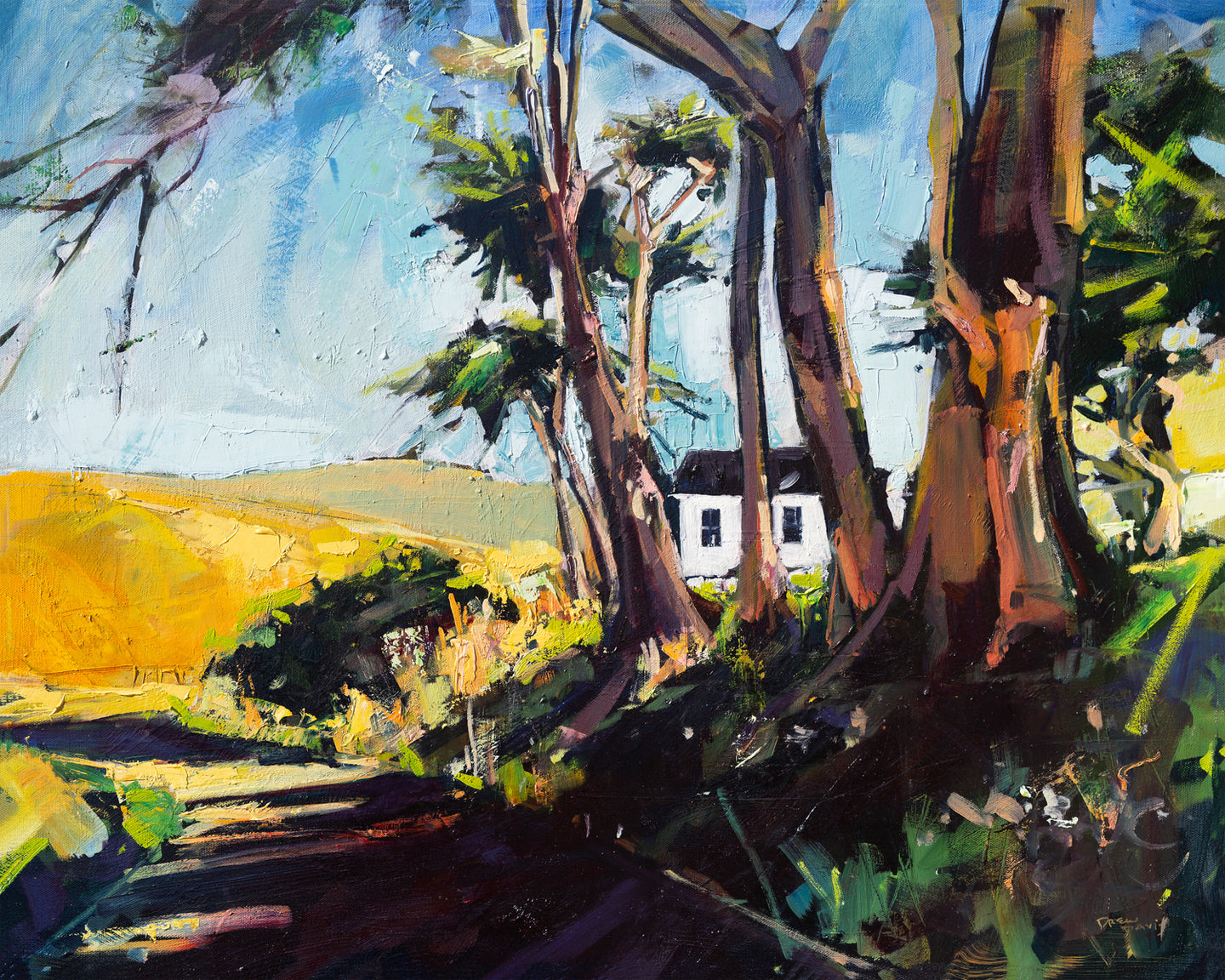 Spooner Ranch House | 24x30 | Original Oil on Canvas