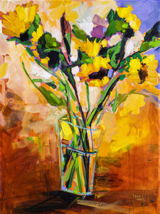 Sunflower Bouquet | 18x24 | Original Oil on Canvas