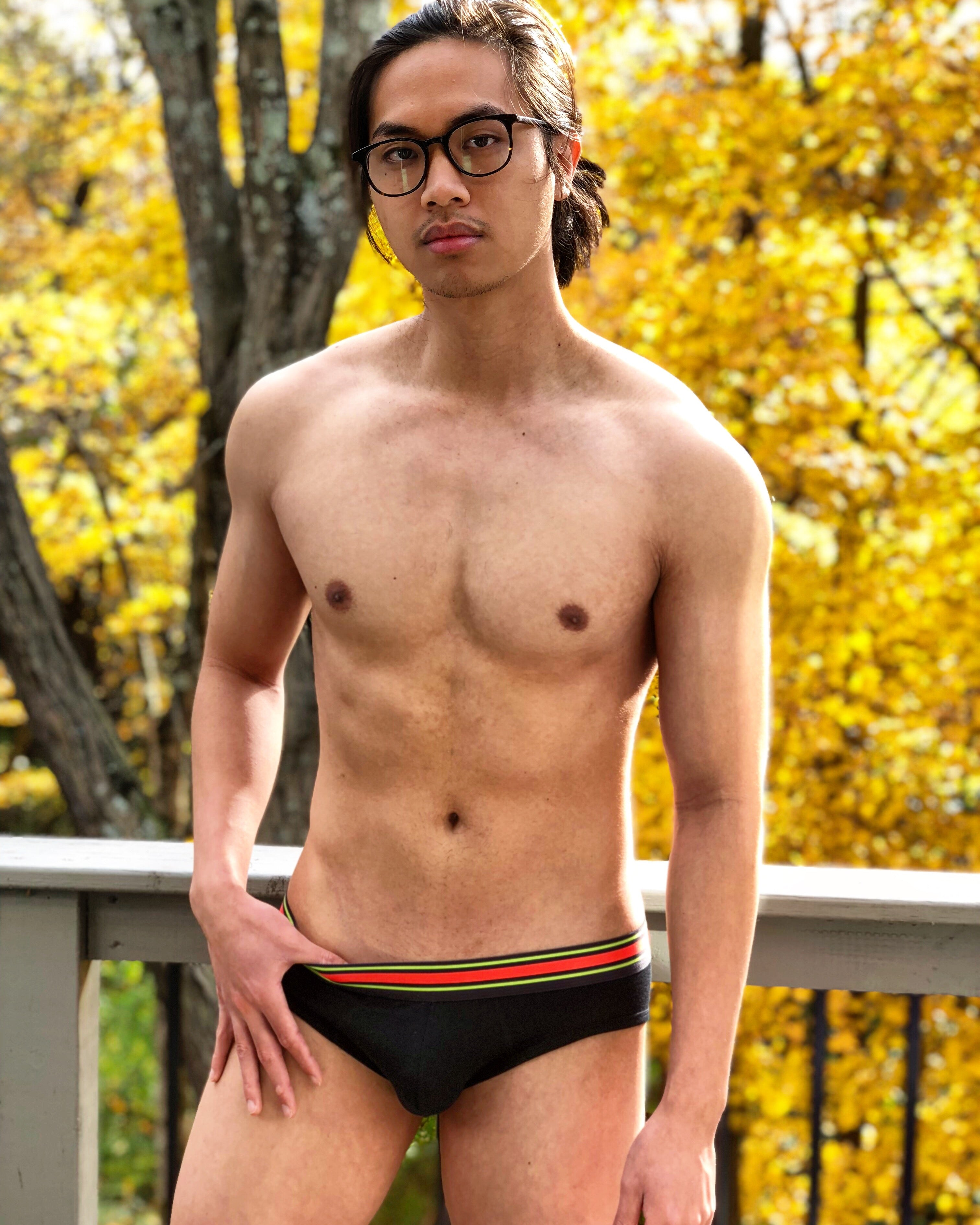 Viridi Black Bamboo Briefs