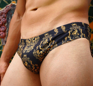 Baroque Swim Brief