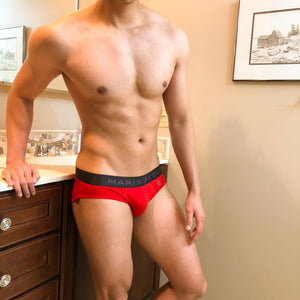 Bombacio Red Briefs