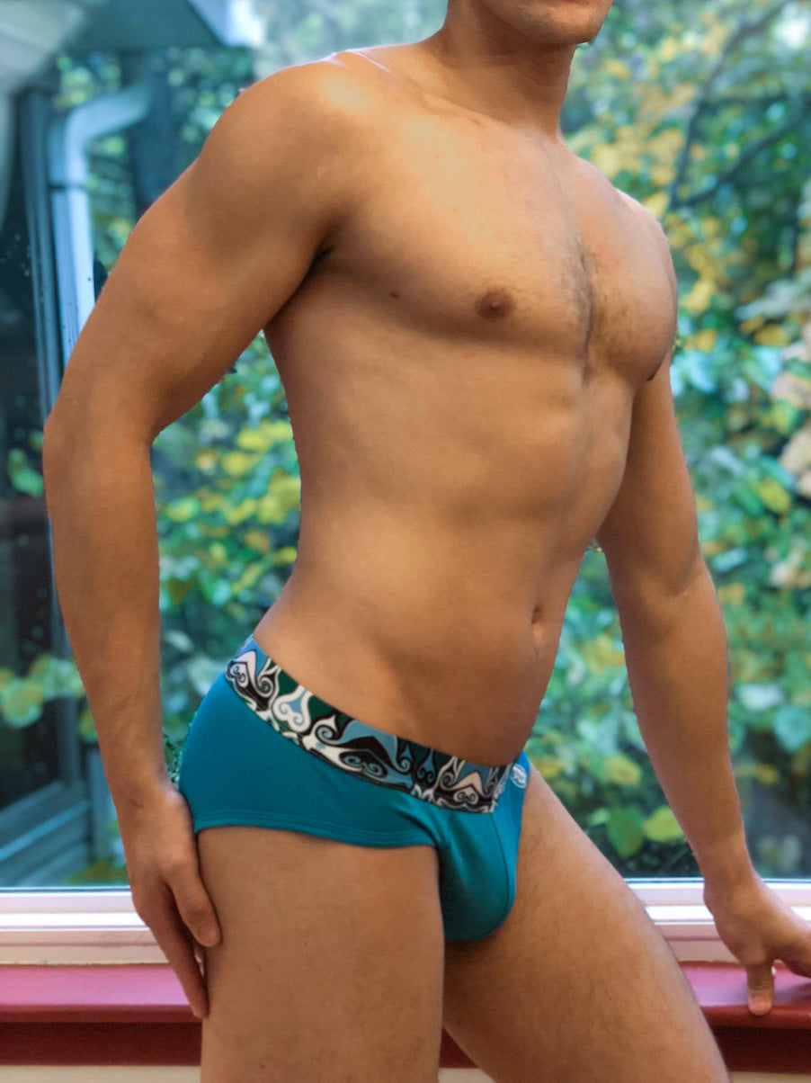 Bombacio Blue Briefs