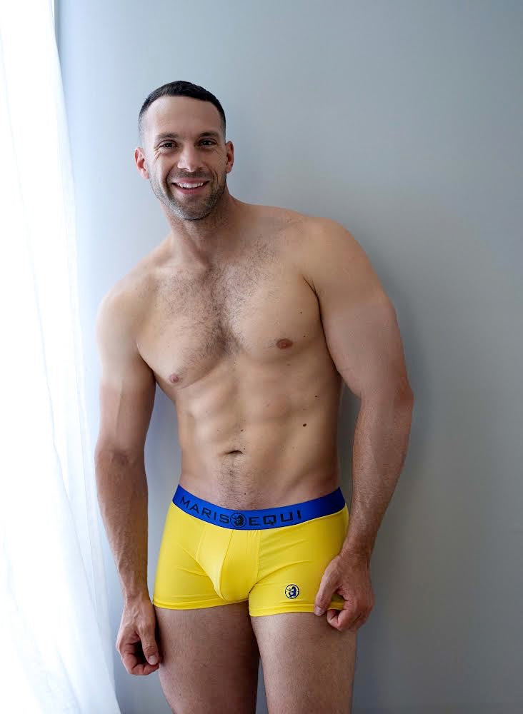 Bombacio Yellow Boxer Briefs