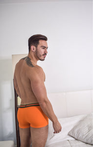 Bombacio Orange Boxer Briefs