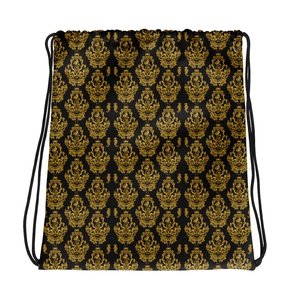 Baroque Drawstring Bag