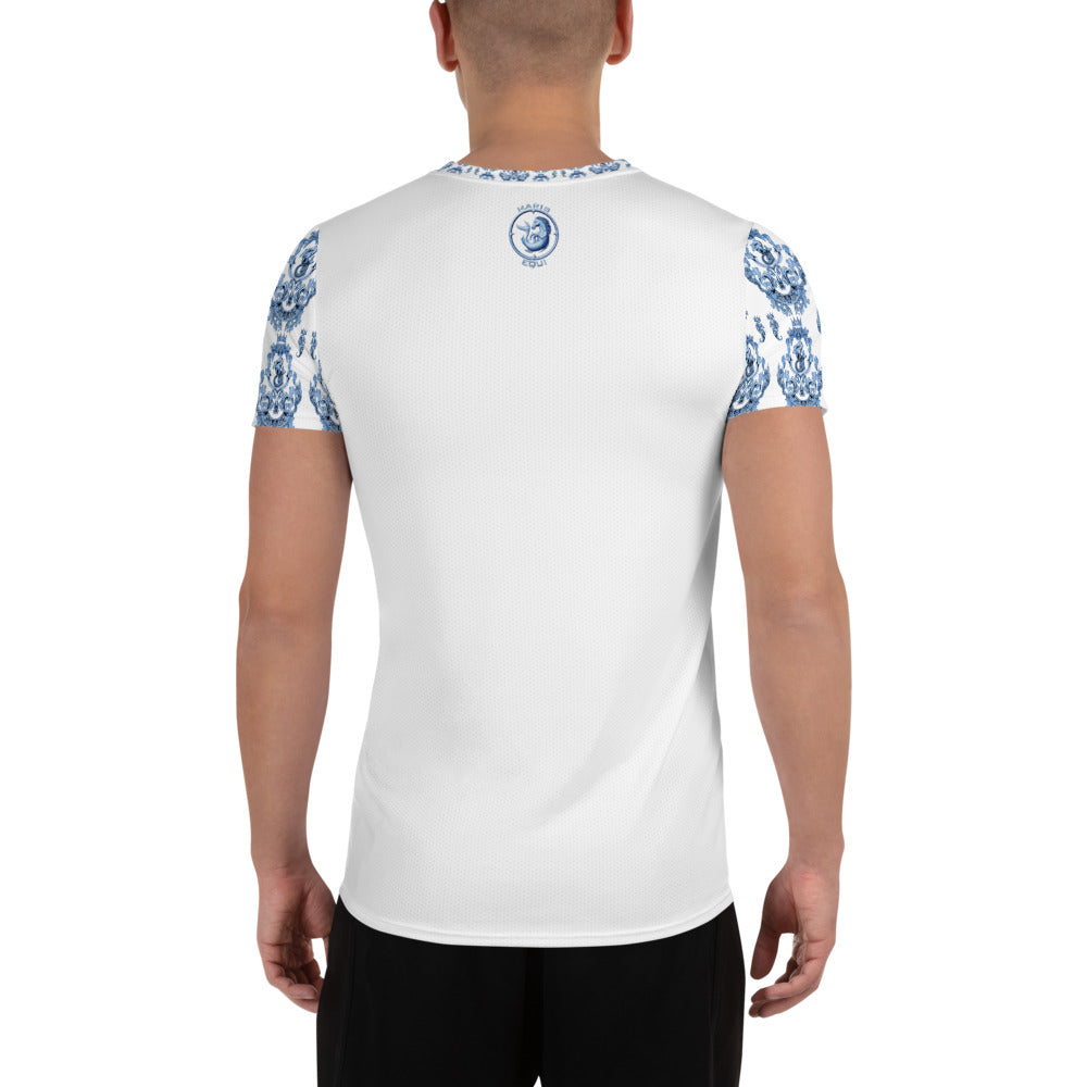 Blue Baroque Sport Shirt