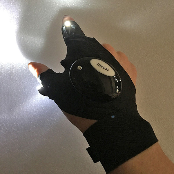 Outdoor LED Glove Night Sight