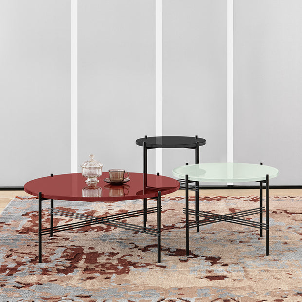 Gubi Ts Coffee Table Salontafel Rond Houtmerk