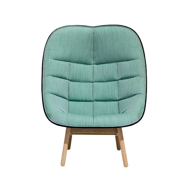 HAY - HAY - Uchiwa Quilted - Fauteuil Fauteuil - Houtmerk