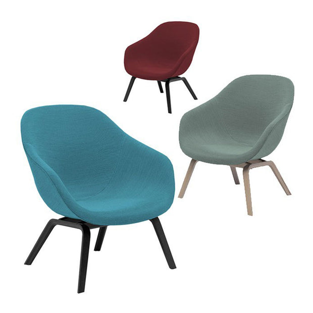 HAY - HAY - AAL83 Full Upholstery - Fauteuil Fauteuil - Houtmerk