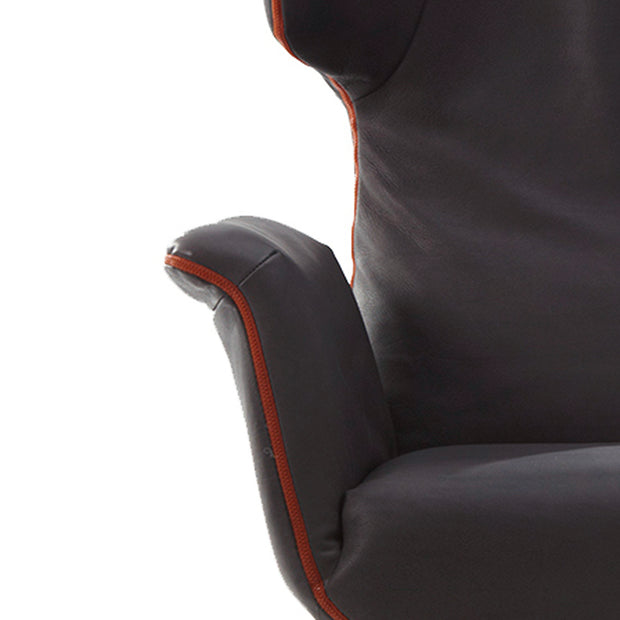 Label van den Berg - Label - First Class - Fauteuil Buisvoet Stoelen - Houtmerk