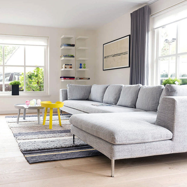 Design Bank Met Chaise Longue.Alberta Salotti Collins 2 Sofa Hoekbank 01cl2c3 Houtmerk