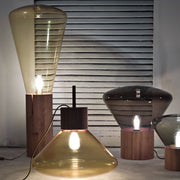 Brokis - Brokis - Muffin - Upside Down Lamp Lampen - Houtmerk