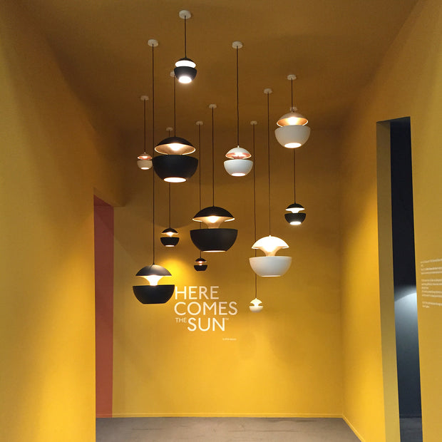 DCW Editions - DCW Editions - Here Comes The Sun - Hanglamp Lampen - Houtmerk