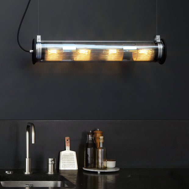 DCW Editions - DCW Editions - In The Tube - Wandlamp in Goud Lampen - Houtmerk