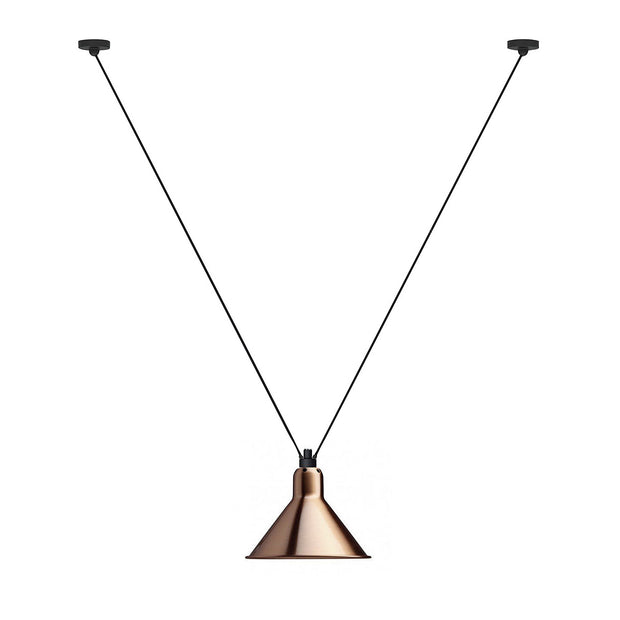 DCW Editions - DCW Editions - Acrobates 323 L - Hanglamp Lampen - Houtmerk