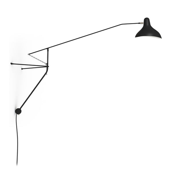 DCW Editions - DCW Editions - Mantis BS2 - Wandlamp Lampen - Houtmerk