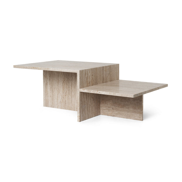 Ferm Living - Distinct Coffee Table - Salontafel Travertin