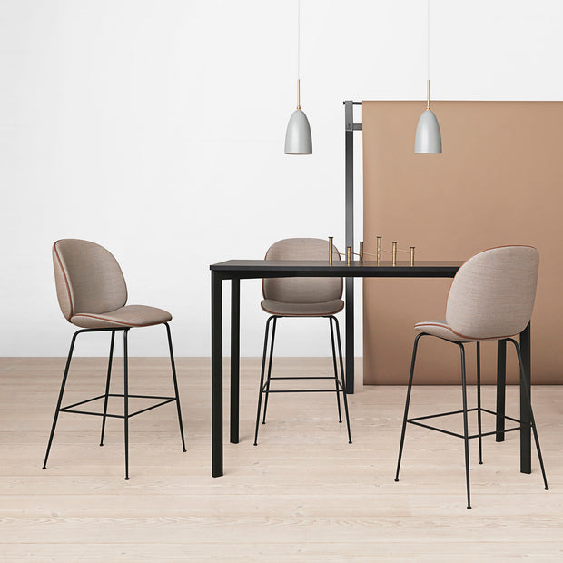 Gubi - Beetle Bar Chair - Barkruk met rugleuning