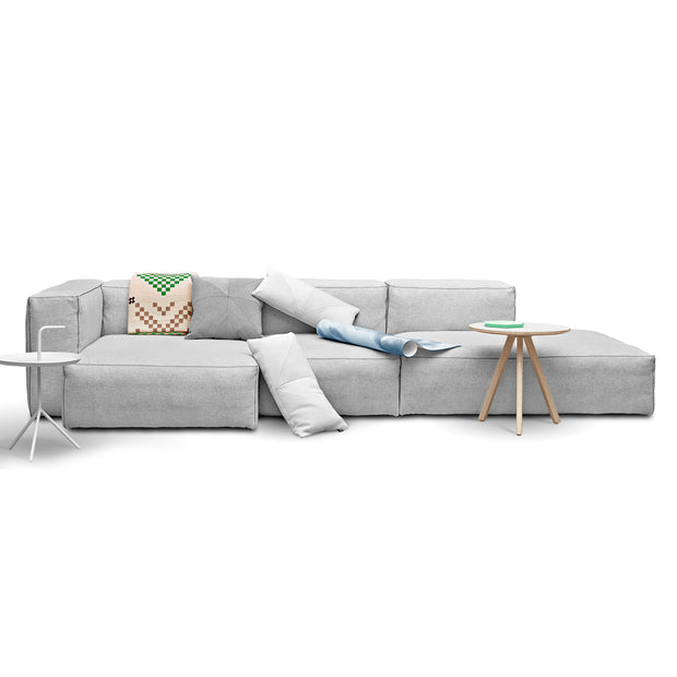 HAY - HAY - Mags Soft S8162 Narrow - Chaise Longue links Banken - Houtmerk