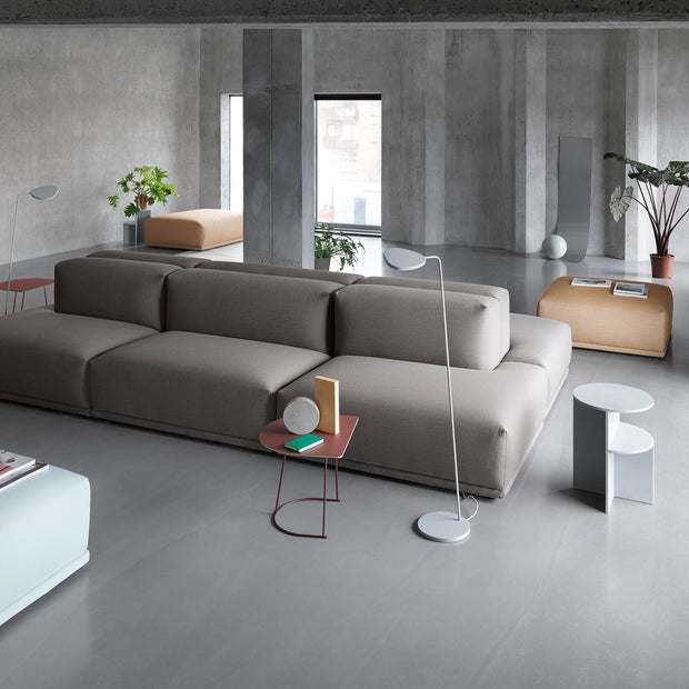 Muuto - Muuto - Connect - Bank Module J - Lounge Links Banken - Houtmerk