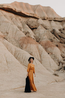 Ambre Dress Ochre
