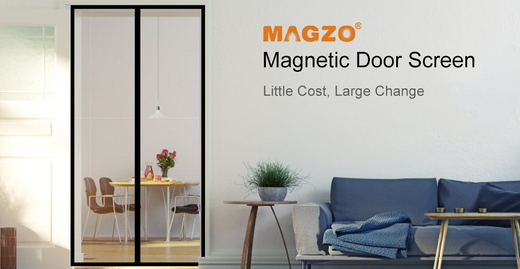 MAGZO EVA Insulated Door Curtain White