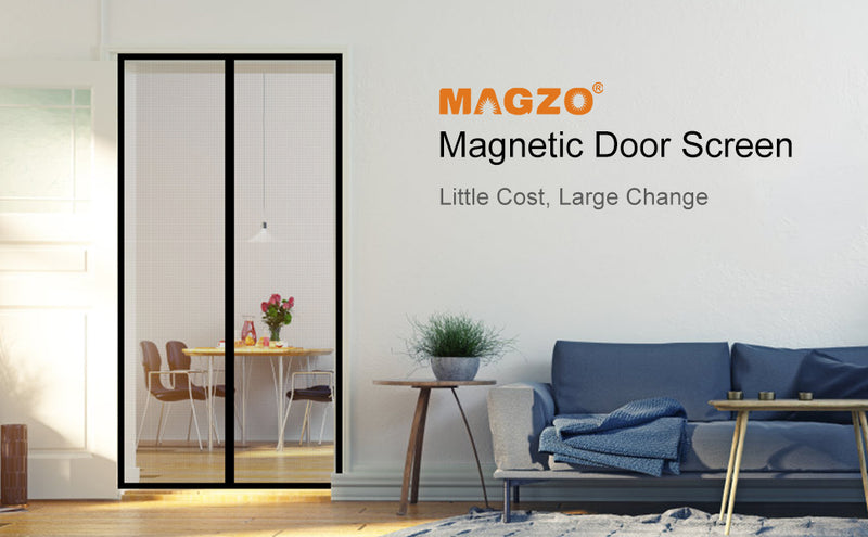 Magical Magnetic Screen Door