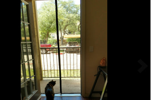 A Cost Effective DIY Custom Screen Door