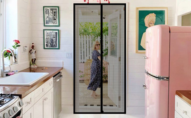 What Are the Characteristics of Magnetic Screen Door? and the Price?