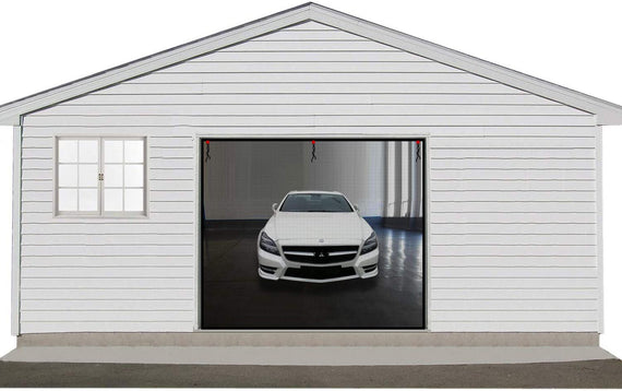 MAGZO Garage Screen Door- Prevent Creatures Get Into Your Garage