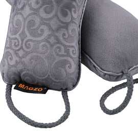 MAGZO Door Snake Draft Stopper, Weighted Under Door,Color Gray