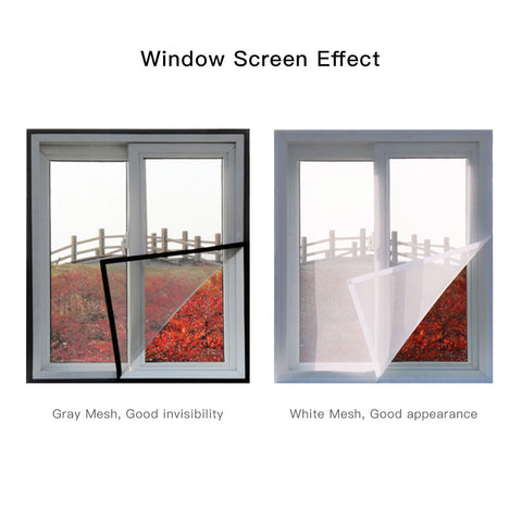The custom window screen