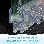 Glass Shower Door Sweep (12mm)