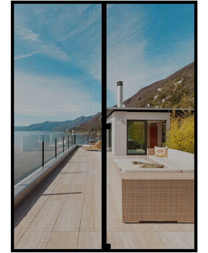 MAGZO Custom Magnetic Screen Door Large Size
