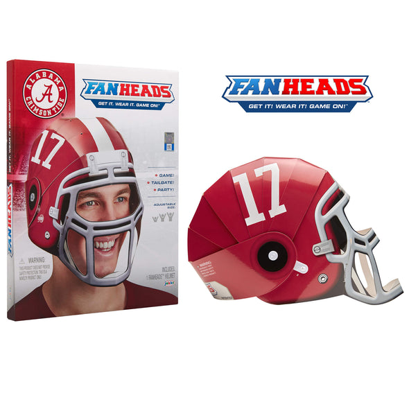 Alabama Crimson Tide Fanheads packaging