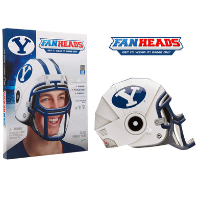 BYU Cougars FanHeads packaging