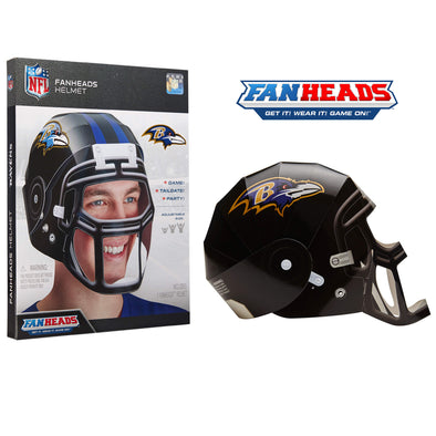 Baltimore Ravens FanHeads packaging
