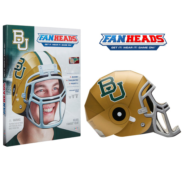 Baylor University Bears FanHeads packaging
