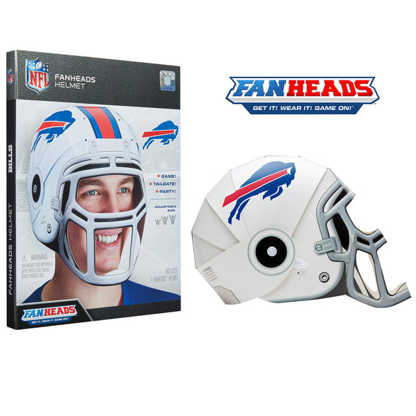 Buffalo Bills FanHeads packaging