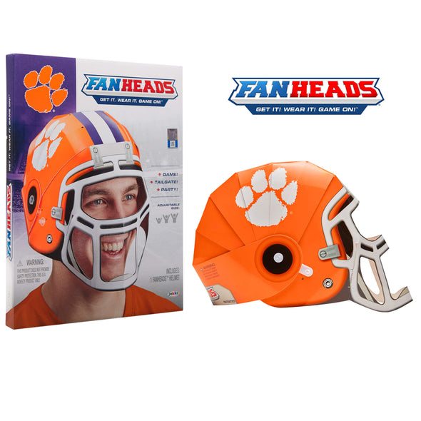 Clemson University Tigers FanHeads packaging