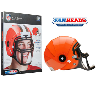 Cleveland Browns FanHeads packaging
