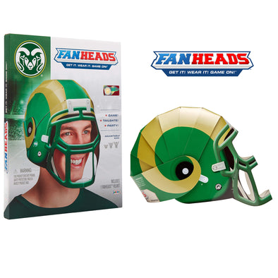 Colorado State Rams FanHeads packaging