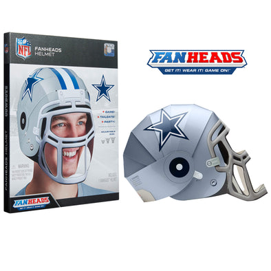 Dallas Cowboys FanHeads packaging