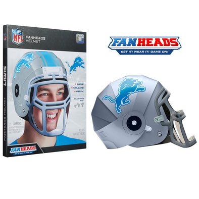 Detroit Lions FanHeads packaging